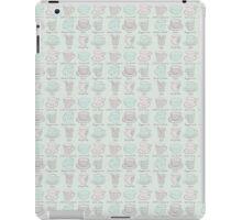 Coffee Tea Mug Pattern iPad Case/Skin