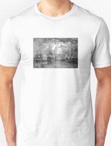 Civil War Ships Unisex T-Shirt