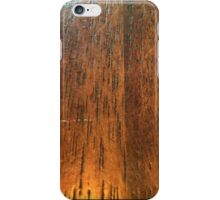 Wood Grain iPhone Case/Skin