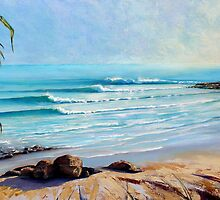 Noosa Heads Queensland Australia Paintings by Chris Hobel by Chris Hobel