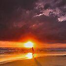 Fishing at Sun by Antonio Zarli