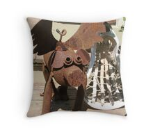 When Pigs Fly 2 Throw Pillow