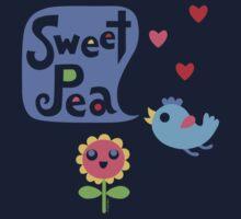 Sweet Pea - on lights One Piece - Long Sleeve