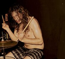 Johnny b drummer by Eric LeClair