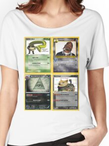Mlg Pokemon Cards Women's Relaxed Fit T-Shirt