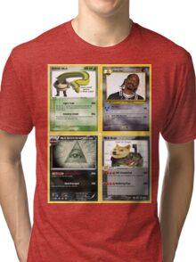 Mlg Pokemon Cards Tri-blend T-Shirt