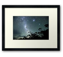 Milky Way from a very dark place Framed Print