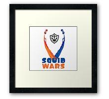 Splatoon! Squid Wars Framed Print