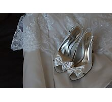 The Dress and the Shoes Photographic Print