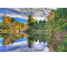 Hartman Lake Photographic Print