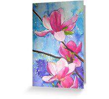 Magnolia XIV Greeting Card