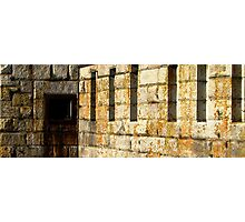 Exterior Wall Photographic Print