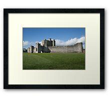 Norman castle Framed Print