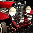 Red Duesenberg 2 by transportation