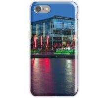 Dublin at night iPhone Case/Skin
