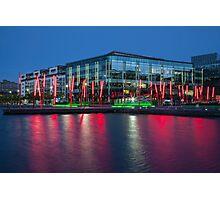 Dublin at night Photographic Print