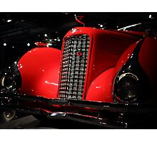 Red Cadillac 2 Photographic Print