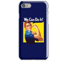 Rosie The Riveter - We Can Do It iPhone Case/Skin