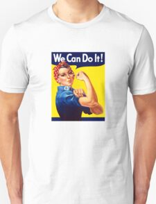 Rosie The Riveter - We Can Do It Unisex T-Shirt