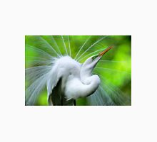 Breeding Egret Eye to the Sky Unisex T-Shirt