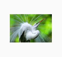 Breeding Egret Eye to the Sky T-Shirt