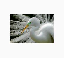 Great White Egret Breeding Perfection Unisex T-Shirt