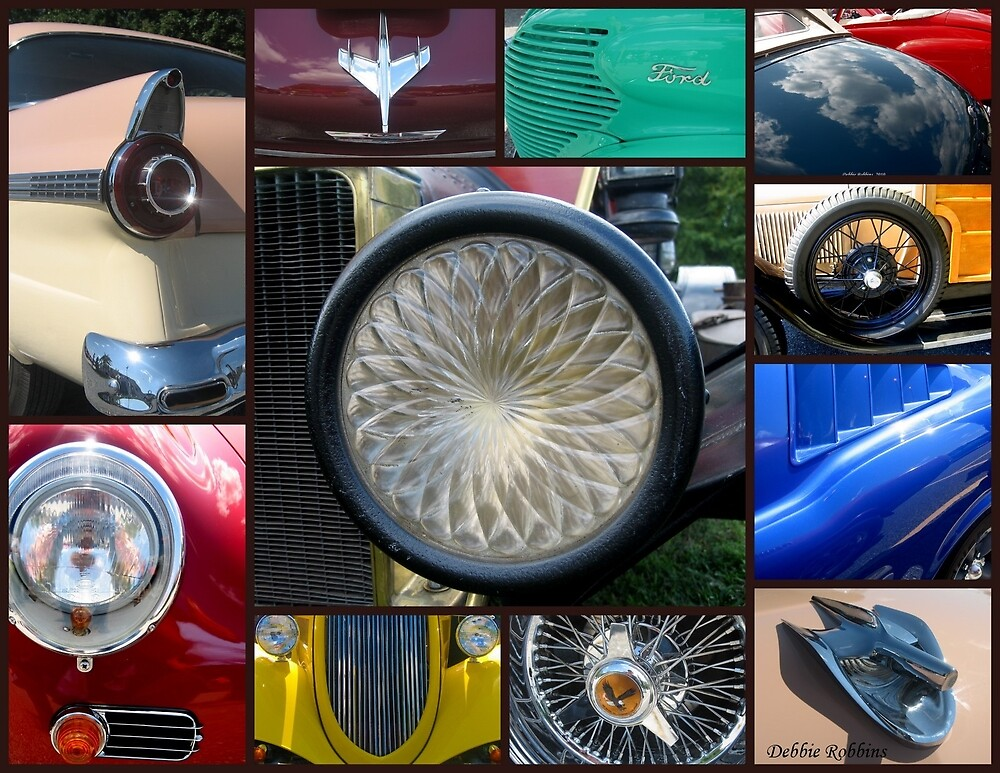 Cars, Cars, and More Cars... (trucks, too) by Debbie Robbins