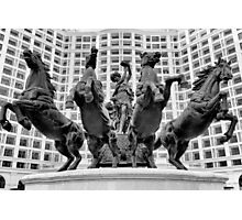 Giant statue in Royal City Square, Hanoi Photographic Print