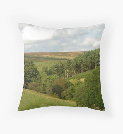 March Ghyll Throw Pillow