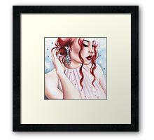 Delicate Glamour Framed Print