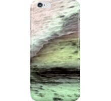 The Receding Icefield no.1 (Throw Pillow and Tote Bag) iPhone Case/Skin