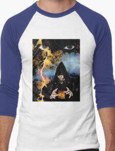 Dark Wizard Men's Baseball ¾ T-Shirt