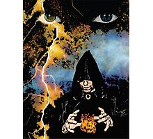 Dark Wizard Photographic Print