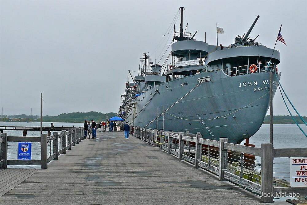 WW II Liberty Ship - US SS John W. Brown by Jack McCabe