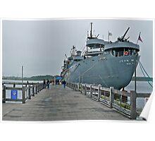 WW II Liberty Ship - US SS John W. Brown Poster
