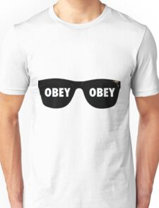 They Live - Sunglasses Obey Unisex T-Shirt