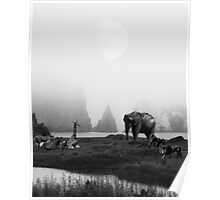 The Menagerie in BW Poster