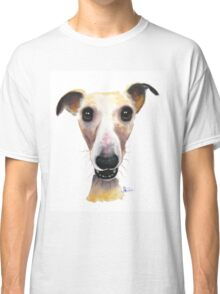 NOSEY DOG 'HOLLYWOLLY' BY SHIRLEY MACARTHUR Classic T-Shirt