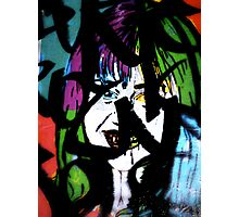 Miley Vampirus Photographic Print