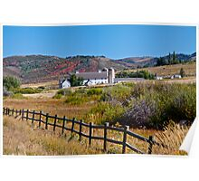 Mc Polin Barn, Park City, Utah Poster