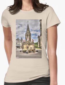 Outlander location - Falkland Womens Fitted T-Shirt
