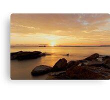Sunset - Botany Bay Canvas Print