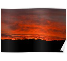 Namib fired sky Poster