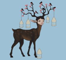 The Happy Springtime Deer! by Tiarne Pollock