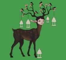 The Happy Springtime Deer! Kids Clothes