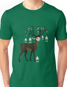 The Happy Springtime Deer! Unisex T-Shirt