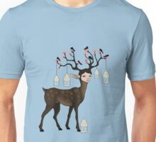 The Happy Springtime Deer! Unisex T-Shirt