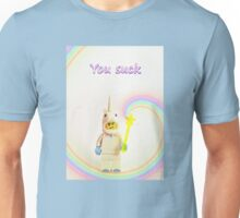 Unicorn says you suck Unisex T-Shirt