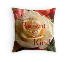 Love Is - Affirmation Throw Pillow