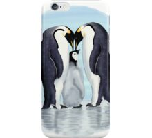 family of penguins iPhone Case/Skin